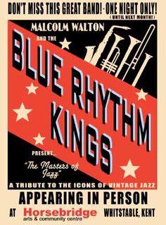 Jazz with the Blue Rhythm Kings | The Horsebridge Arts and Community Centre