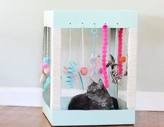 DIY Home Sweet Home: 7 Brilliant DIY Tutorials For Cat Lovers