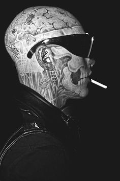 "Rick Genest ""Rico the Zombie"""