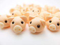 Schweinchen+Ring+Glücksschwein+von+Kinderschmuck++auf+DaWanda.com