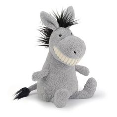 Engeltjes & Draken   Jellycat   Toothy donkey #jellycat #toothy #donkey #ezel #knuffel