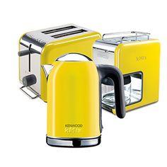 #kitchen #coffe #kahve makinesi #ekmek kizartma #toaster #kettle #colorful #renkli #turuncu # ...