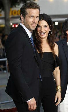 Ryan Reynolds and Sandra Bullock                                                                                                                                                                                 More