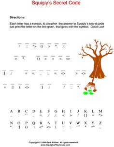 Solve this fun, free Autumn Secret Code Puzzle for kids. Use it in the classroom or at home!