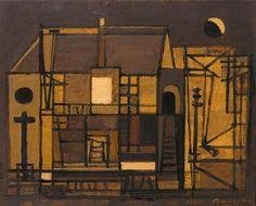 Jenő Barcsay, Templom Beautiful Girl Body, Biro, Jena, Impressionist, Minimalism, Landscape, Painters, Modern, Google