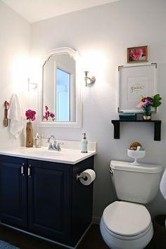bathroom design, decor, bathroom makeovers, modern bathroom, toilet, bathroom idea, cabinet, organizing bathroom, guest bathrooms