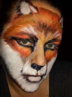 #bear #facepainting #Makeup: Anna Pogodzinska / AnyaMakeupArt