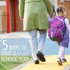 Learn how to have a great #school year with your kids!