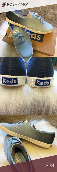 Brand New Ombre Blue Multi Keds New in Box zombie Blue Keds.  Definitely s Summer Go To Shoe Keds Shoes Sneakers