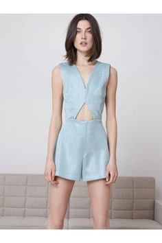 Alexis Clothing | Ameu Romper www.shopsplash.com