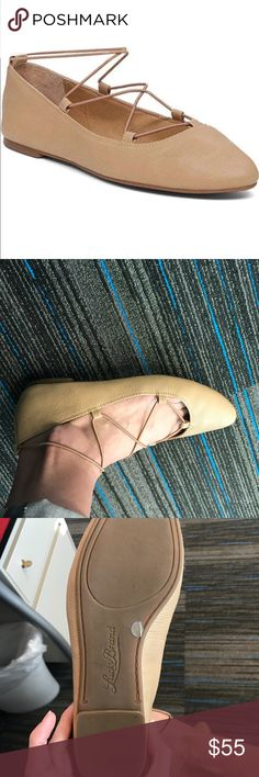 Lucky Brand Pointed Toe Flat Leather shoe, super comfortable and worn twice - perfect condition. Just downsizing my closet. Lucky Brand Shoes Flats & Loafers
