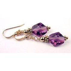 Swarovski Crystal Handmade Beaded Earrings