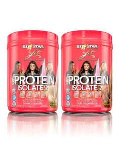 Look at this #zulilyfind! Six Star Pro Nutrition Vanilla & Chocolate 100% Protein Isolate - Set of Two by Six Star Pro Nutrition #zulilyfinds