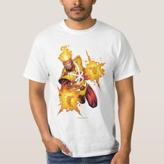Shop Firestorm Punch T-Shirt created by justiceleague. Personalize it with photos & text or purchase as is! Superman T Shirt, Fitness Models, Punch, Mens Tops, How To Wear, Shirts, Stuff To Buy, Birthday
