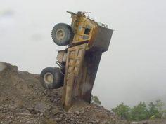 Truck yoga.