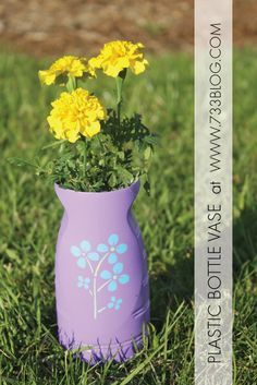 Upcycled Mother's Day Vase