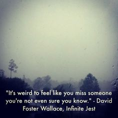 David Foster Wallace, I loved his Infinite Jest it is probably my favorite book I have ever read, I highly recommend to others Love Words, Beautiful Words, David Foster Wallace Quotes, Quotes To Live By, Love Quotes, General Quotes, Wanderlust Quotes, Philosophy Quotes, How To Get Sleep