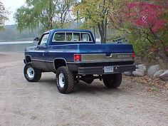 1978 Chevy K20 just lifted..<3 have one! But without the lift