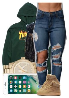 """130"" by jalay ❤ liked on Polyvore featuring Michael Kors and NIKE"