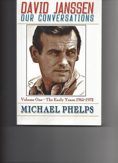 In DAVID JANSSEN ~ Or Conversations: Volume One-The Early Years (1965-1972) we learn how the author Michael Phelps met the iconic American Actor and his first wife, Ellie.  We see the bond of friendship develop between Mr. Janssen and Mr. Phelps.  Soon, we learn the 'perfect Hollywood couple' are not as the fan magazines portray them to be.In DAVID JANSSEN ~ Our Conversations: Volume Two-The Final Years (1973-1980), we read the innermost, private thoughts of Mr. Janssen as expresse...