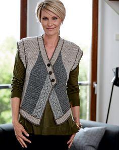 Gradient Baby Vest Making - Örgü El İşleri Knit Vest Pattern, Wool Vest, Easy Knitting, Knit Or Crochet, Knitting Designs, Knitting Patterns, Crochet Clothes, Pulls, Knitwear