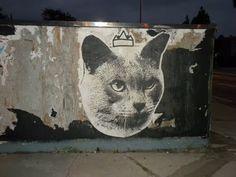 By LA based group Cat Cult (thecatcult.com). Image source: Juxtapoz Magazine. S)