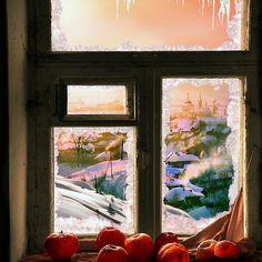 Frosted Window Sill /By Igor Zenin