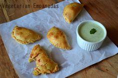 Daring Bakers   Empanadas ... go veggie