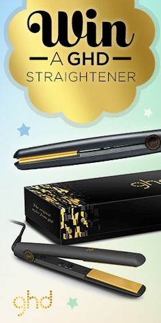 We Have a Bestselling #ghd IV Styler to Give Away! #hair #straightener