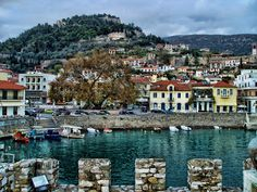 Nafpaktos, Greece x Santorini Villas, Beauty Around The World, Around The Worlds, Beautiful Places To Visit, Places To See, Myconos, Places In Greece, Greece Travel, Greece