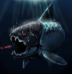 Dunkleosteus - Marcos Villarroel. In the latest episode of River Monsters Prehistoric Terror, Jeremy Wade shared with us the fossil record of creatures that used to live in ancient freshwater environments. Huge, ugly but nonetheless fascinating they were truly monsters of the deep.