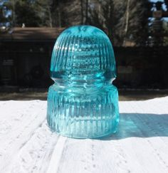 Blue Aqua CD 143 Withycombe Insulator