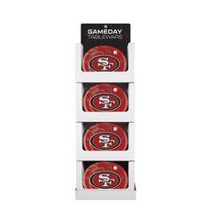 "San Francisco 49ers 10"" x 12"" Oval Platter Floor Display Tags: San Francisco 49ers; Platters; NFL Tableware; San Francisco 49ers party;San Francisco 49ers party decorations;San Francisco 49ers Platters; https://www.ktsupply.com/products/32786352326/San-Francisco-49ers-10doublequote-x-12doublequote-Oval-Platter-Floor-Display.html"