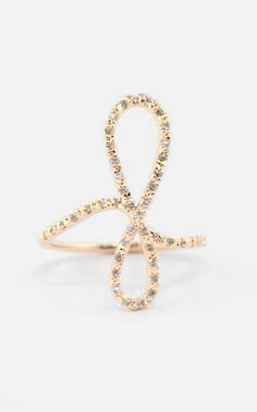 Crystal-Infinity Rose Gold Ring, Soooo pretty and delicate !!!!