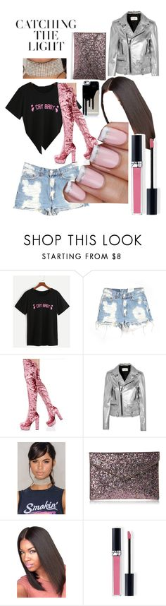 """""""🍭"""" by shawnice-hawkins ❤ liked on Polyvore featuring Furst of a Kind, Cape Robbin, Yves Saint Laurent, Rebecca Minkoff and Christian Dior"""