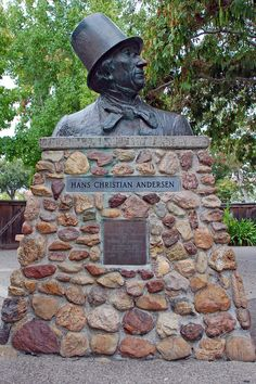 Hans Christian Andersen at the Hans Christian Andersen Museum -- 1680 Mission Drive - Solvang, CA 93463 - Fred R Childers Photography
