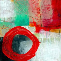 Fresh Paint #6 by Jane Davies