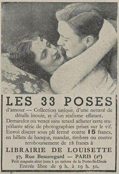 Les 33 poses d'amour #RéalismeEffarant Ex. : 1.Ils rougissent. / 14.Main dans la main. / 27.Le serment d'amour éternel.