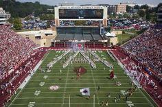 Razorback Stadium, GO HOGS! Fayetteville, Arkansas