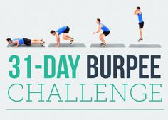 By Rachel Grice      Burpees -- the exercise you love to hate. But