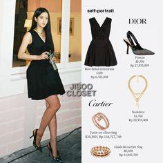 Blackpink Fashion, Fashion Outfits, Looks Teen, Dior, Bedroom Vintage, Kpop Outfits, Blackpink Jisoo, Portrait, Korean Singer