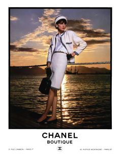 Inès de la Fressange for Chanel