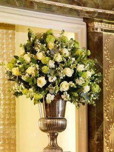 Traditional urn vase.