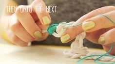 Jewellery Making: DIY Crochet Bracelet Tutorial - http://videos.silverjewelry.be/handmade-jewelry/jewellery-making-diy-crochet-bracelet-tutorial/