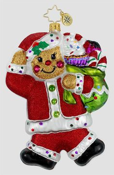 Christopher Radko 'Kindly Confection' Ornament available at #Nordstrom  I love Christopher Radko Ornaments!!