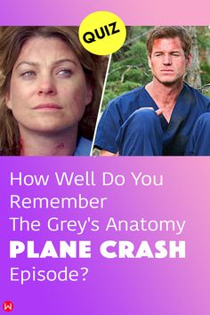 """How much do you remember about the iconic Season 8 Greys Anatomy finale episode title """"Flight"""", where the doctors are involved in a plane crash? #greys #GreysAnatomy #greysquiz #greysnostalgia #greysAnatomyTrivia #planecrash #meredithgrey #greystragedies #greysdeath #greysanatomyscene #shondaland"""
