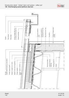 kalzip construction details DETAIL Pinterest Construction