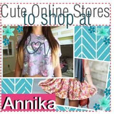 Cute online stores to shop at.