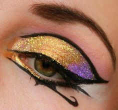 Egyptian Inspired #Eye #Makeup