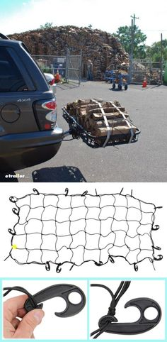 Keep any load secure. This cargo net keeps items in place on your hitch-mounted cargo carrier, truck bed or rooftop basket. Elastic cording stretches for a perfect fit. Plastic hooks ensure quick, secure attachment without scratching. Hint hint, great gift idea for hunters to tote gear and game securely. Cargo Net, Gifts For Hunters, Hunting Gear, Truck Bed, Rooftop, Stretches, Hooks, Rv, Perfect Fit